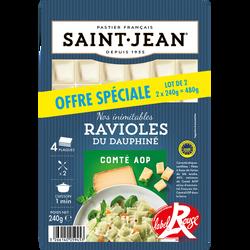 Ravioles du Dauphiné IGP Label Rouge SAINT JEAN, 2x240g