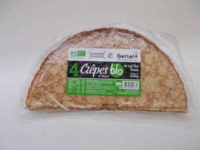 CREPES X4 BIO BERTEL