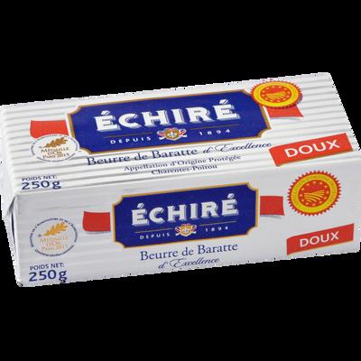 Beurre doux ECHIRE,AOP 250g