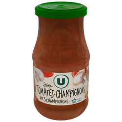 Sauce tomates et champignons U,  boîte de 446ml 420g