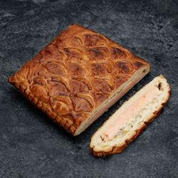 1/2 feuilleté au saumon pâte pur beurre