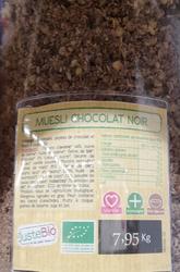 MUESLI CHOCOLAT NOIR BIO, UN AIR D'ICI, UE/NON UE, 150GR