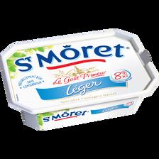 Spécialité fromagère nature pasteurisé Ligne et Plaisir ST MORET, 9% de MG, 150g
