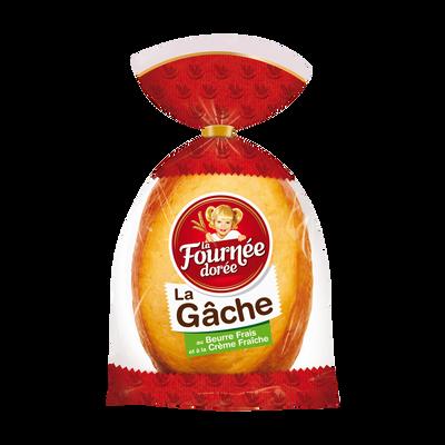 Gâche au beurre frais LA FOURNEE DOREE, 500g