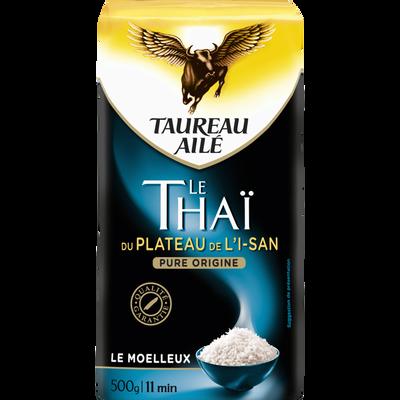 Riz thaï du plateau de l'is-an TAUREAU AILE, étui de 500g