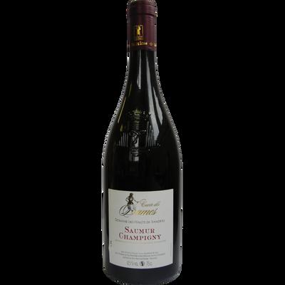 """Vin rouge AOP Saumur Champigny """"Domaine des Hauts Sanziers"""" cuvée desDames,  75cl"""