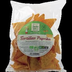 Tortillas au paprika sans gluten bio JARDIN BIO 125g