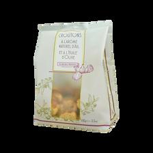 Croutons à l'huile d'olives parfumés à l' ail ALBERT MENES,100g