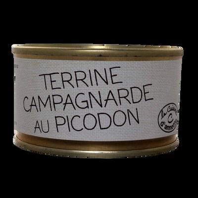 Terrine campagnarde au picodon CUISINE D'ANNETTE, 130g