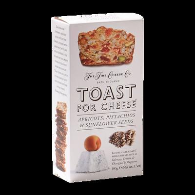 Toast fromage abricot/pistache/graines de tournesol, 100g