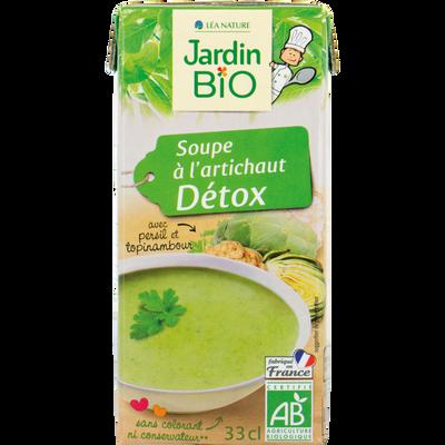 soupe a l'artichaut detox  *  33cl tetra