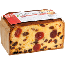 Cake aux fruits FORCHY PATISSIER, 7 tranches soit 500g