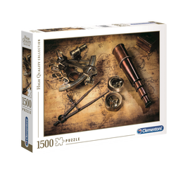 PUZZLE 1500 PIECES COURSE TO THE TREASURE