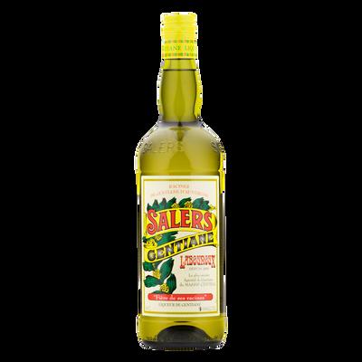 Apéritif à la gentiane SALERS jaune, bouteille de 1l