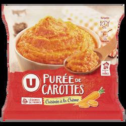 Purée de carottes U, 750g