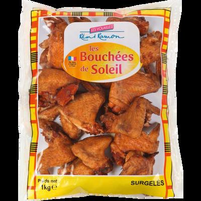 Aile de poulet cuit fumé, 1kg
