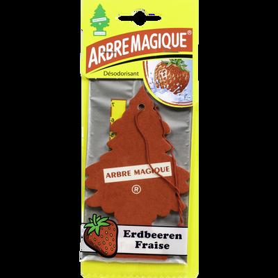 Arbre magique parfum fraise