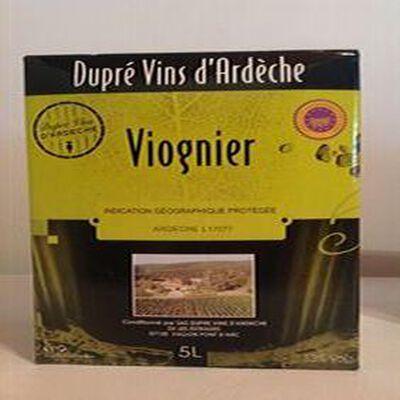 Vin viognier IGP Ardèche DUPRE 5L