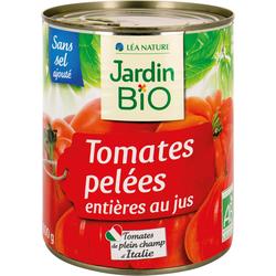 JB Tomates entières pelées au