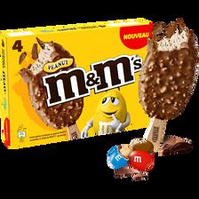 Bâtonnets peanut M&M'S, 4 unités, 248g