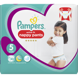 Culottes premium protection PAMPERS, 11-16kg Geant Taille 5 x30