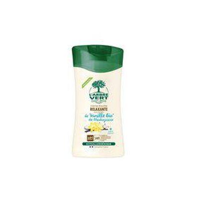 Crème douche relaxante aux extraits de vanille bio de madagascar 250 ml L'arbre vert
