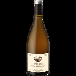 CVT Savennières AOP blanc château De Chamboureau agricole bio, bouteille de 75cl