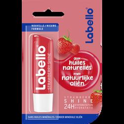 Stick pour les lèvres strawberry shine sous blister LABELLO, 4,8g