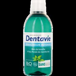 Bain de bouche haleine frâche eau florale de menthe Bio LEA NATURE, bouteille de 500ml