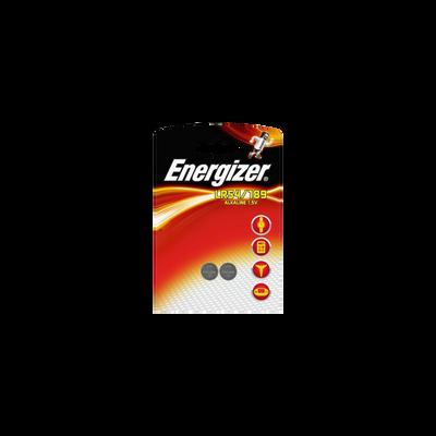 Piles alcaline LR54/189 ENERGIZER miniature, 2 unités sous blister