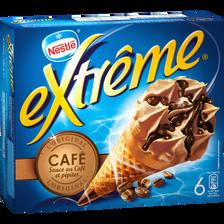 Nestlé Cônes Glacés Café Extrême, 6 Unités, 426g