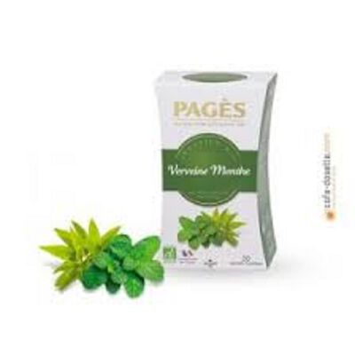 Infusion Verveine Menthe Bio PAGES