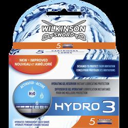 Lames de rasoir hydro 3 WILKINSON, x5