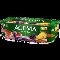 Yaourt aux fruits bifidus ACTIVIA, 8x125g