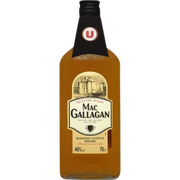 Scotch Blended Scotch Whisky Mac Gallagan U, Bouteille De 70cl