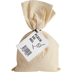 Fleur de sel Guérande sac coton ERIC BUR, 250g