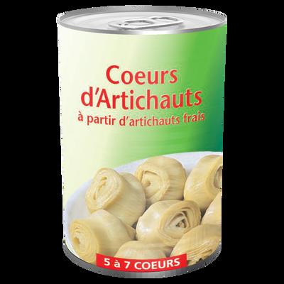 Coeurs d'artichauts, boîte de 1/2, 240g