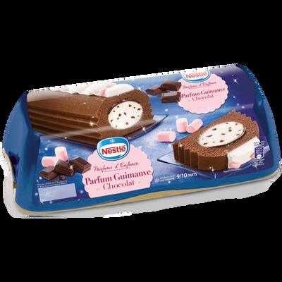 Bûche glacée chocolat guimauve NESTLE, 540g