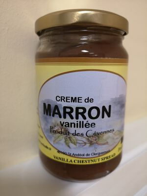 CREME DE MARRON VANILLEE 350G