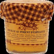 Rouille sétoise au piment d'espelette, LE GOURMAND, 120ml