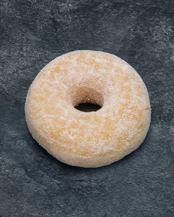 Donut sucre, décongelé, 6+2 offerts, 360g