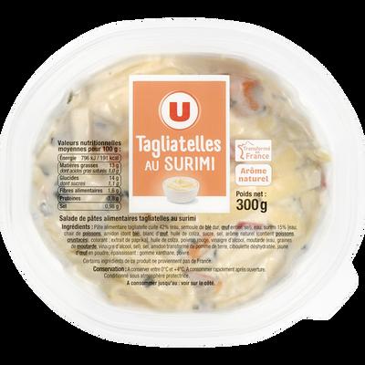 Salade de tagliatelles au surimi U, 300g