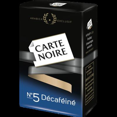 Café moulu décaféïné Infini CARTE NOIRE, paquet de 250g