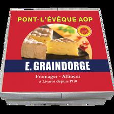 E. Graindorge Pont L'evèque Aop Lait Pasteurisé E.graindorge, 23% De Mg, 200g