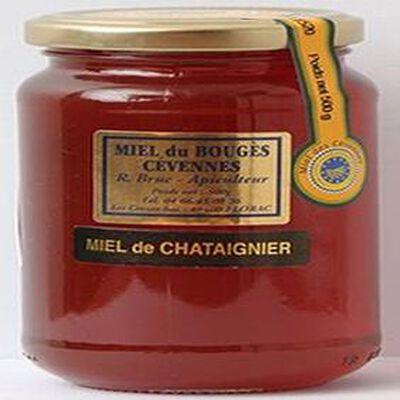 Miel de châtaignier du Bouges Cévennes, 500g