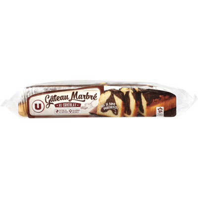 Barre marbrée au chocolat U 500g