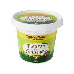 Cancoillotte à l'ail FLEURON DES GOURMETS, pot de 250g