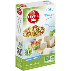 Tofu nature CEREAL BIO, 200g