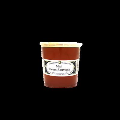 Miel de fleurs sauvages LES RUCHERS DE BOURGOGNE, pot 1kg