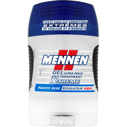 Déodorant Pacific Blue X'Trem MENNEN, stick gel de 75ml